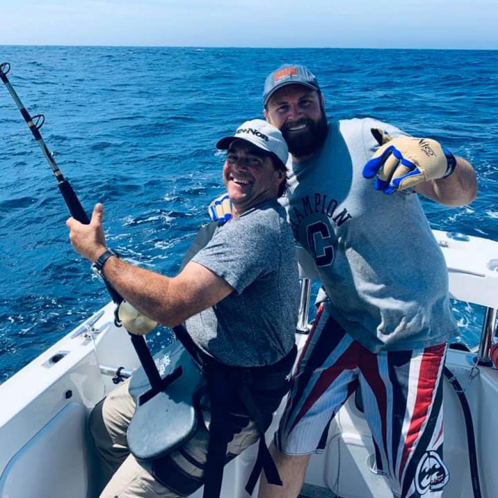 happy customers tuna charter portland Victoria 2021