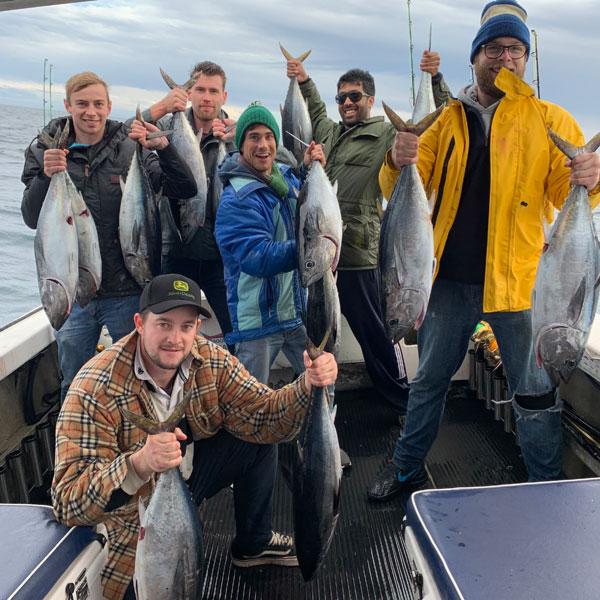 portland tuna fishing charters Victoria Australia