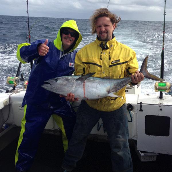 tuna fishing charter portland Victoria