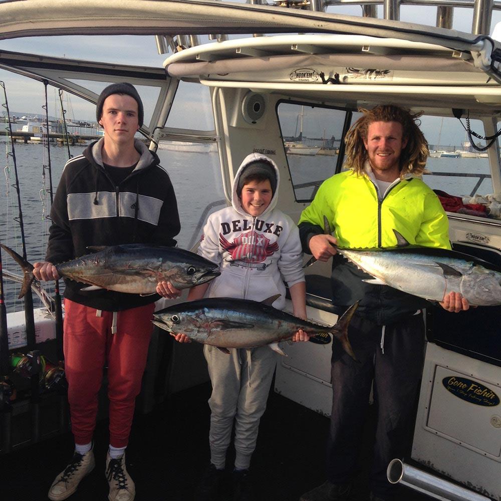 offshore tuna fishing charters portland Victoria